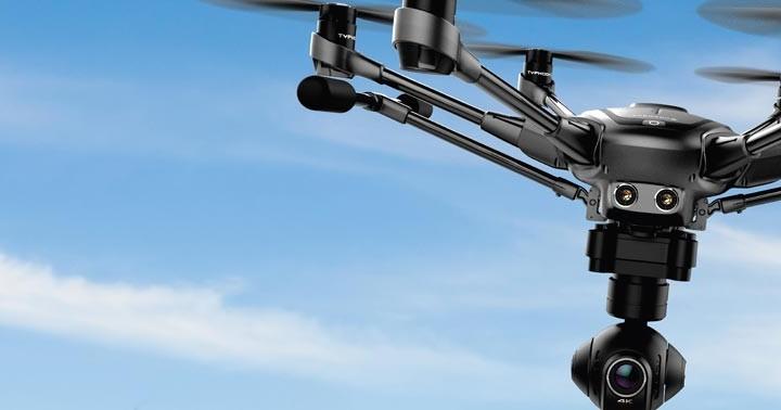 Yuneec typhoon H drone autonome