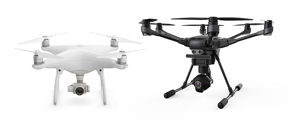 comparatif que vaut le yuneec typhoon h face au phantom 4 de dji course de. Black Bedroom Furniture Sets. Home Design Ideas