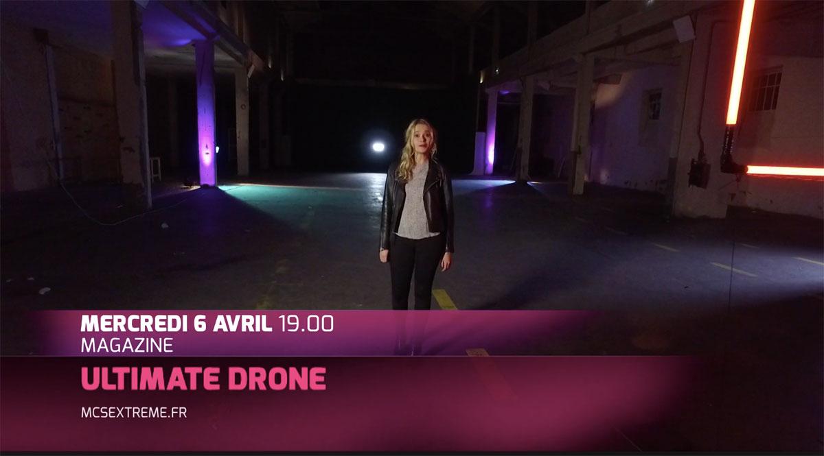 Ultimate-Drone-émission