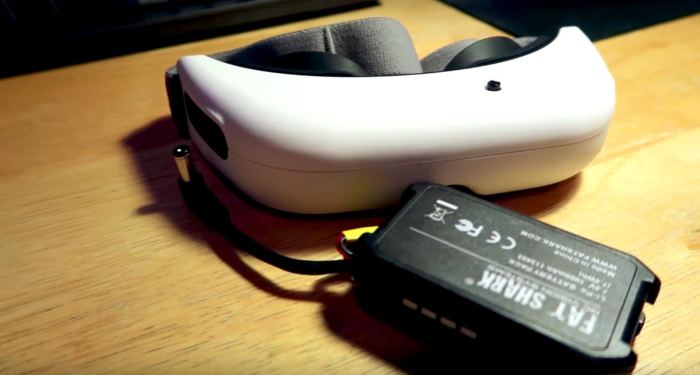 Une première présentation des Fat Shark Base HD - Course de Drone.fr