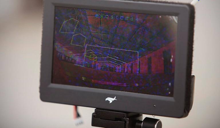 écran-FPV-course-de-drone