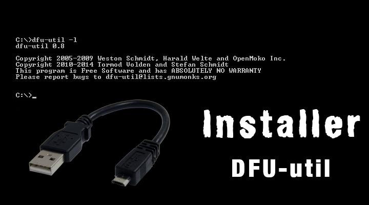 DFU-util-installation