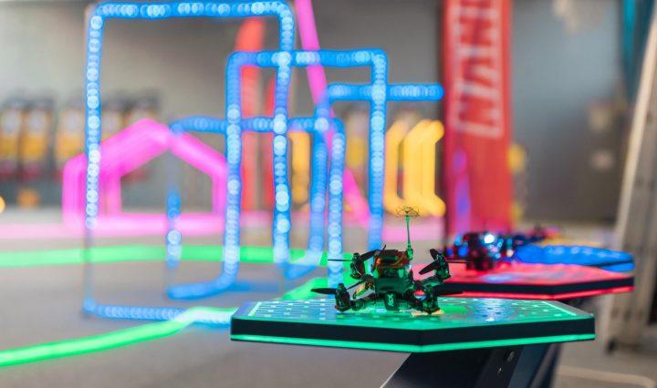 course de drone