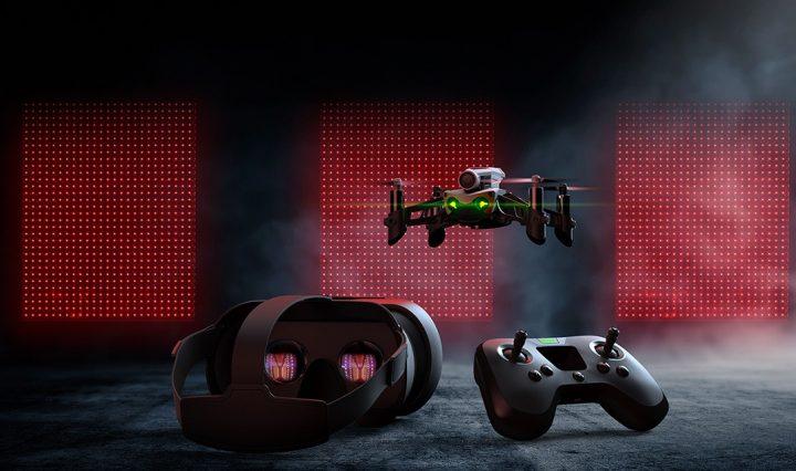 Parrot Mambo FPV course de drone